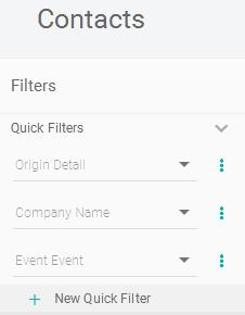 Combinação de quick-filters - Pipz