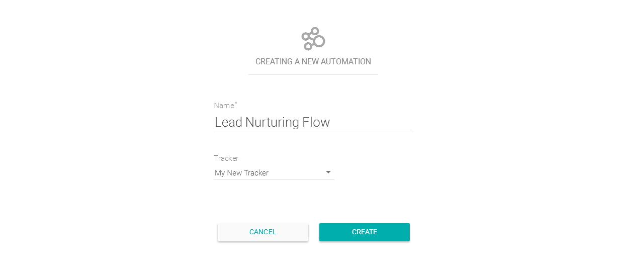 Criando uma nova automação